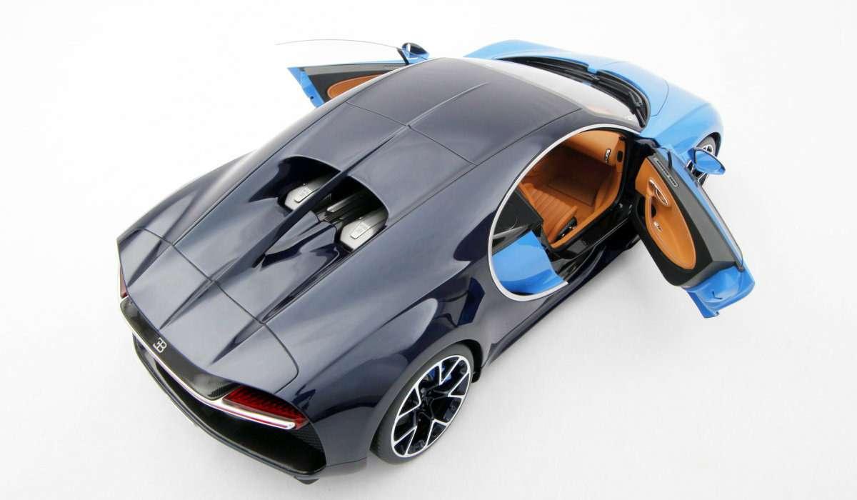 Масштабную копию Bugatti Chiron продают поцене полноценного автомобиля— фото 627840