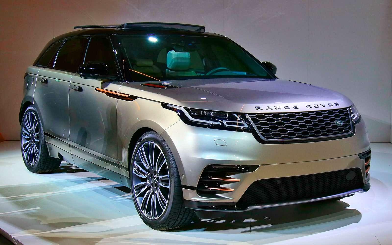 Range Rover Velar: отвал башки!..— фото 742196