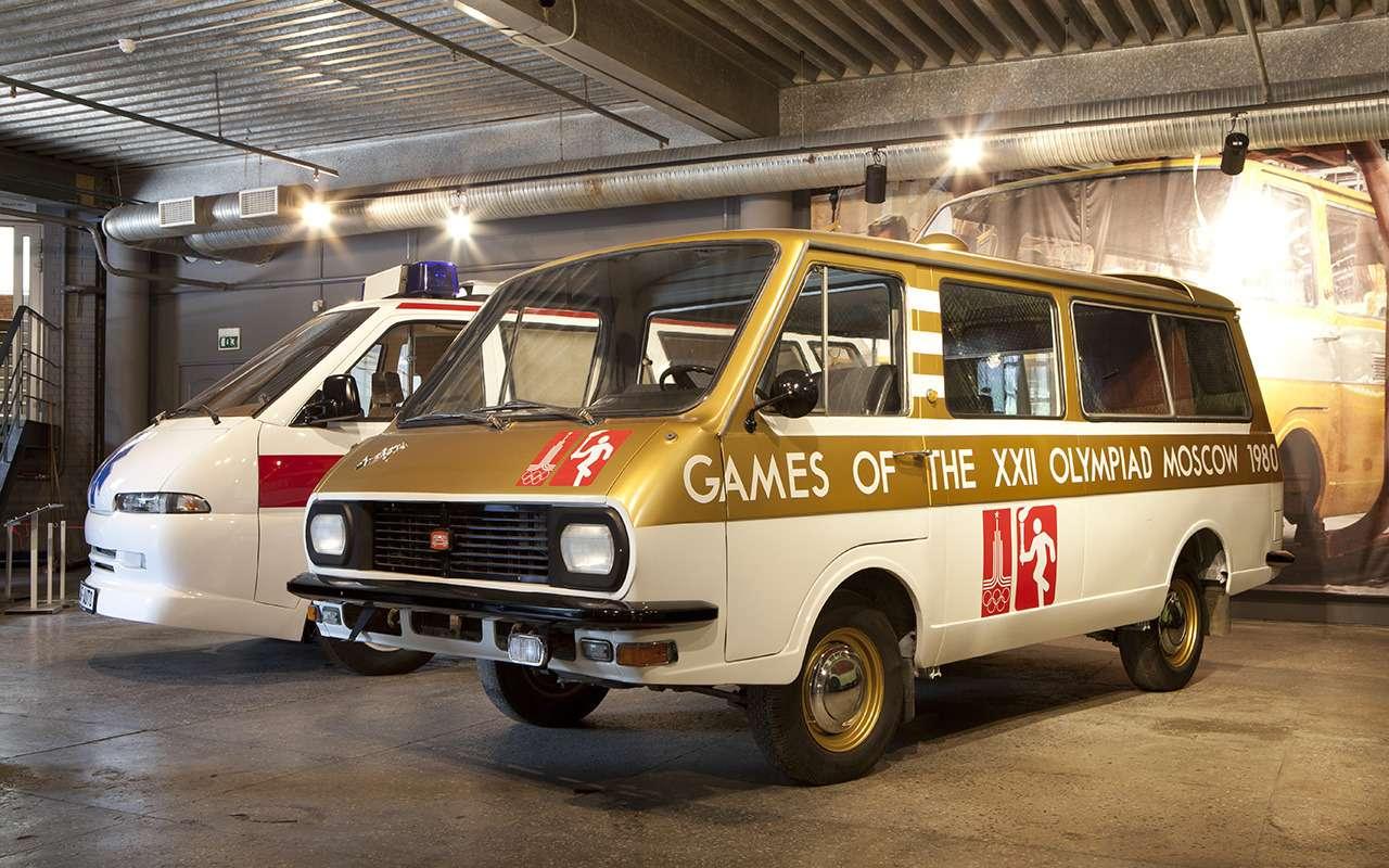 Машины Олимпиады-80: уникальные изабытые проекты— фото 1138540