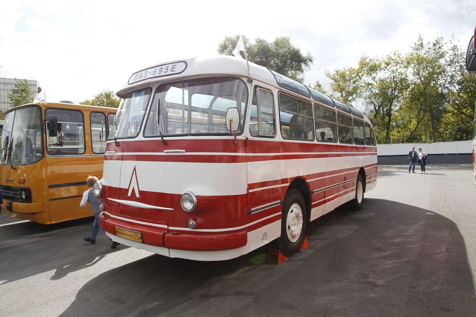 Автобусы нашего детства— выставка пассажирского транспорта— фото 792691