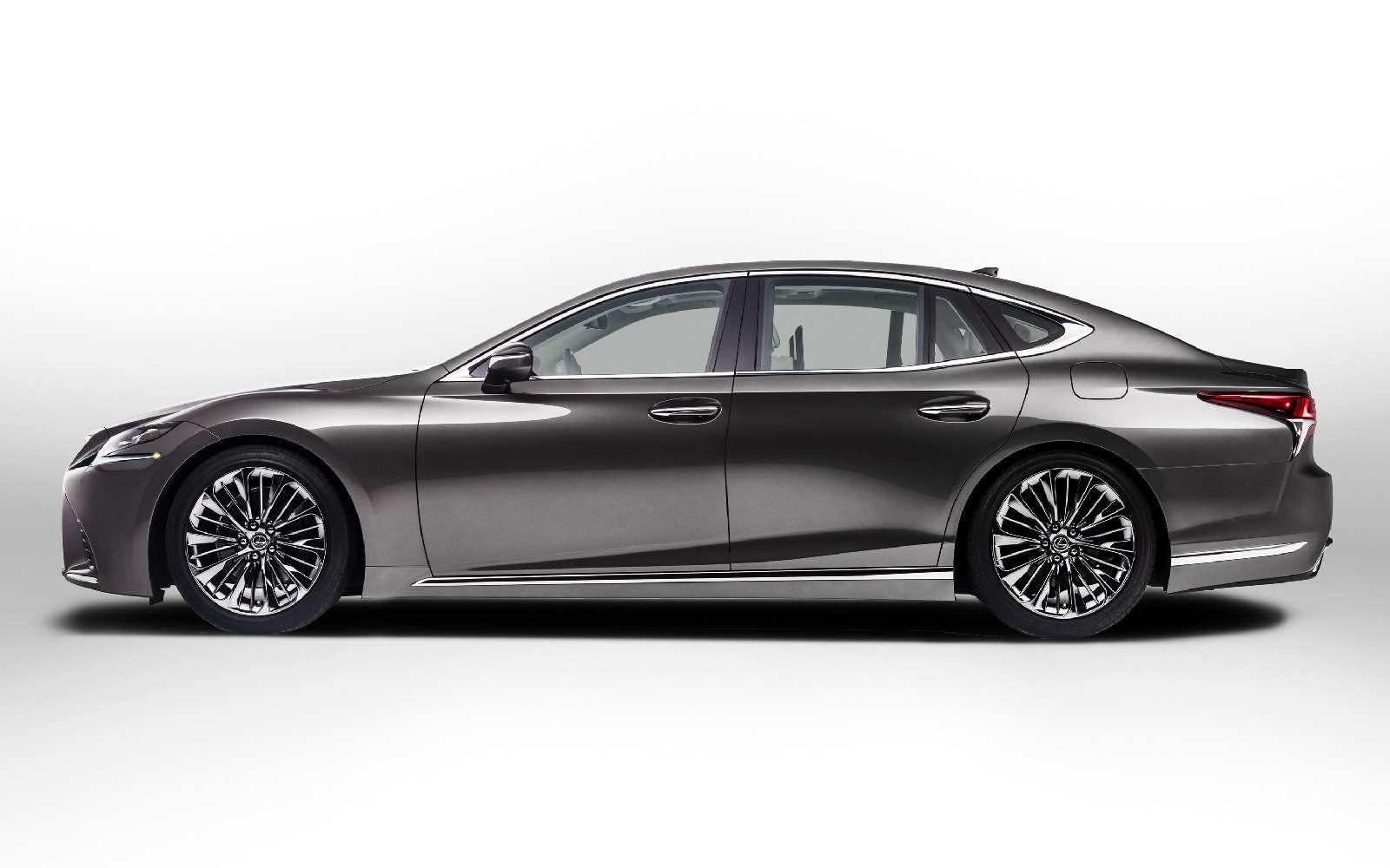 Проглотить S-класс: вДетройте дебютировал новый Lexus LS— фото 690252