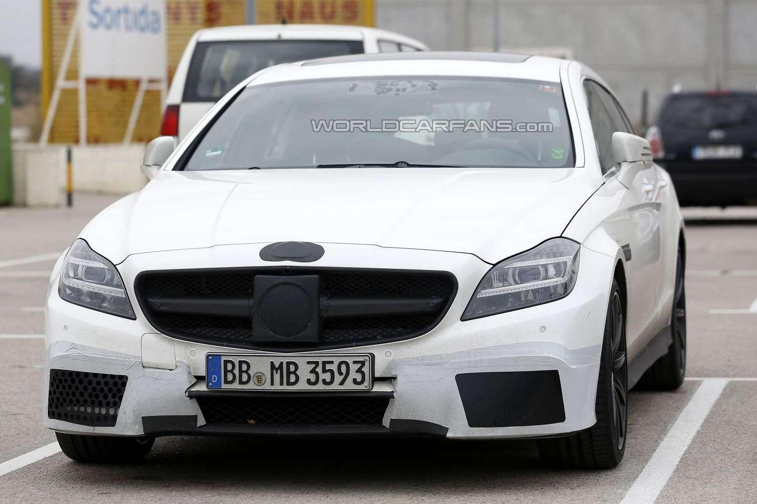Тестовый прототип обновленного Mercedes-Benz CLS 63AMG Shooting Brake