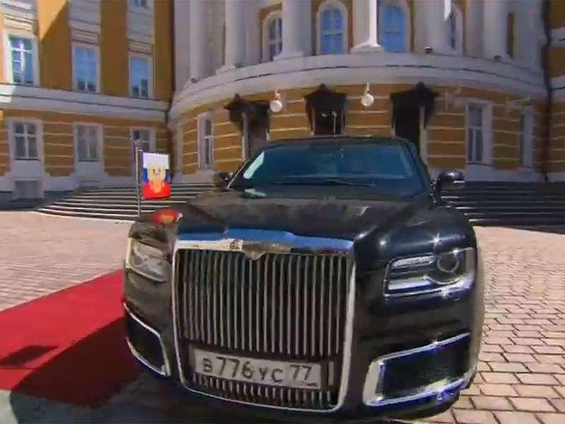 Лимузин президента: 4факта осамом крутом российском автомобиле— фото 868531