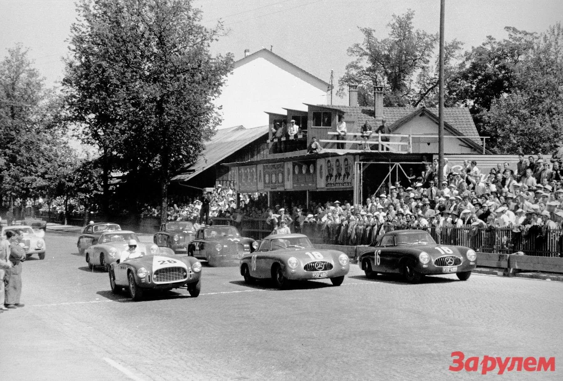 Последняя гонка Караччиолы прошла 18мая 1952 года вБерне. Мастер— вавтомобиле Mercedes-Benz 300SL (W194) подномером 16