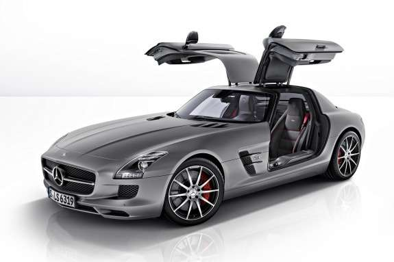 Mercedes-Benz SLS AMG GT side-front view