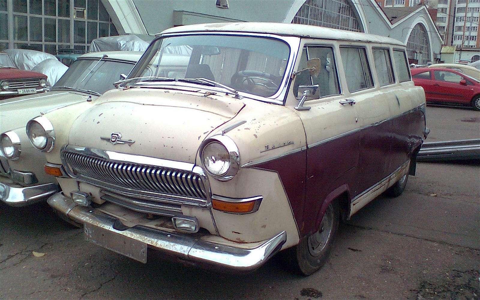 Чертова дюжина самых необычных ГАЗ-21— фото 586972