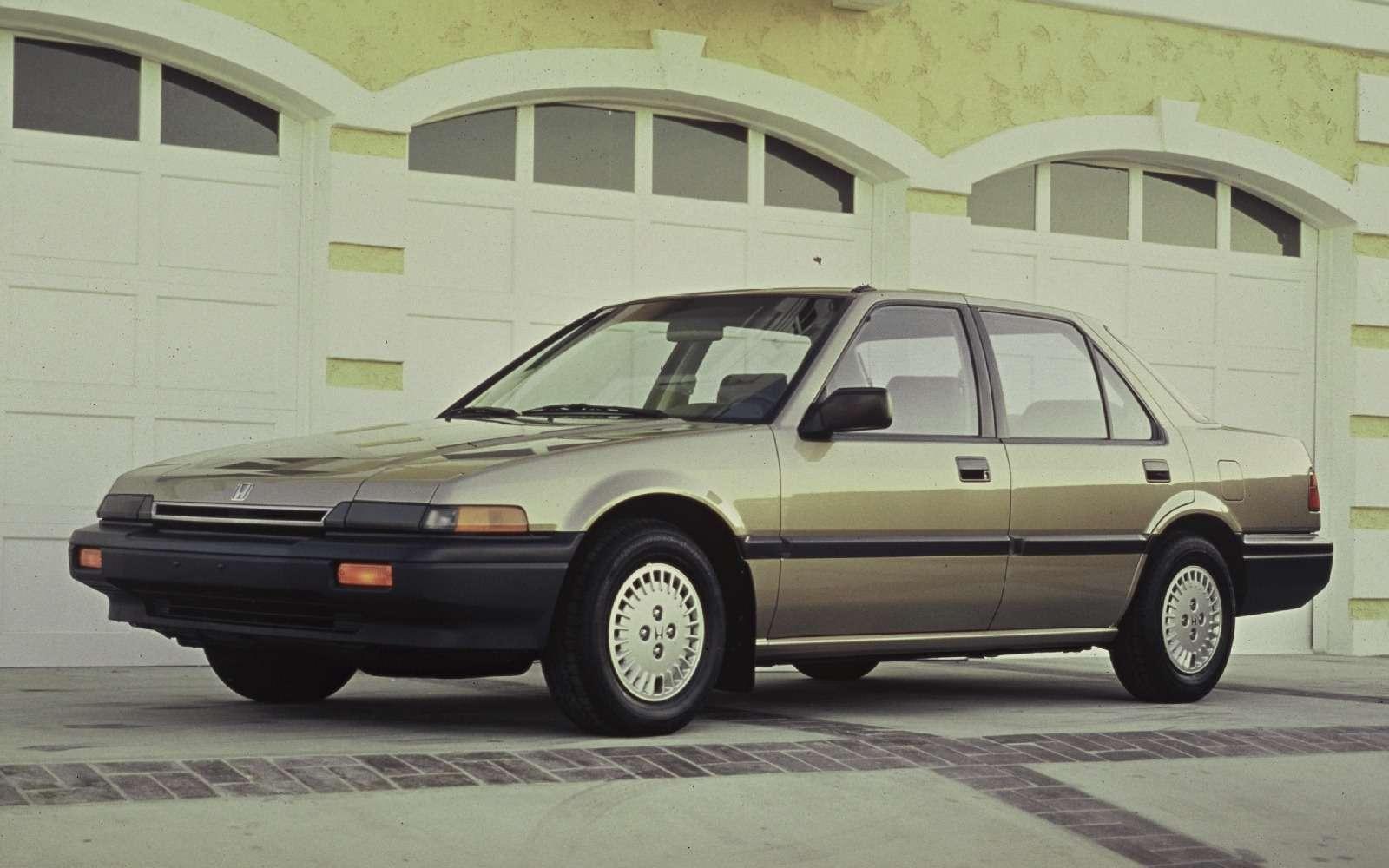 Honda Accord празднует 40-летний юбилей— фото 603979