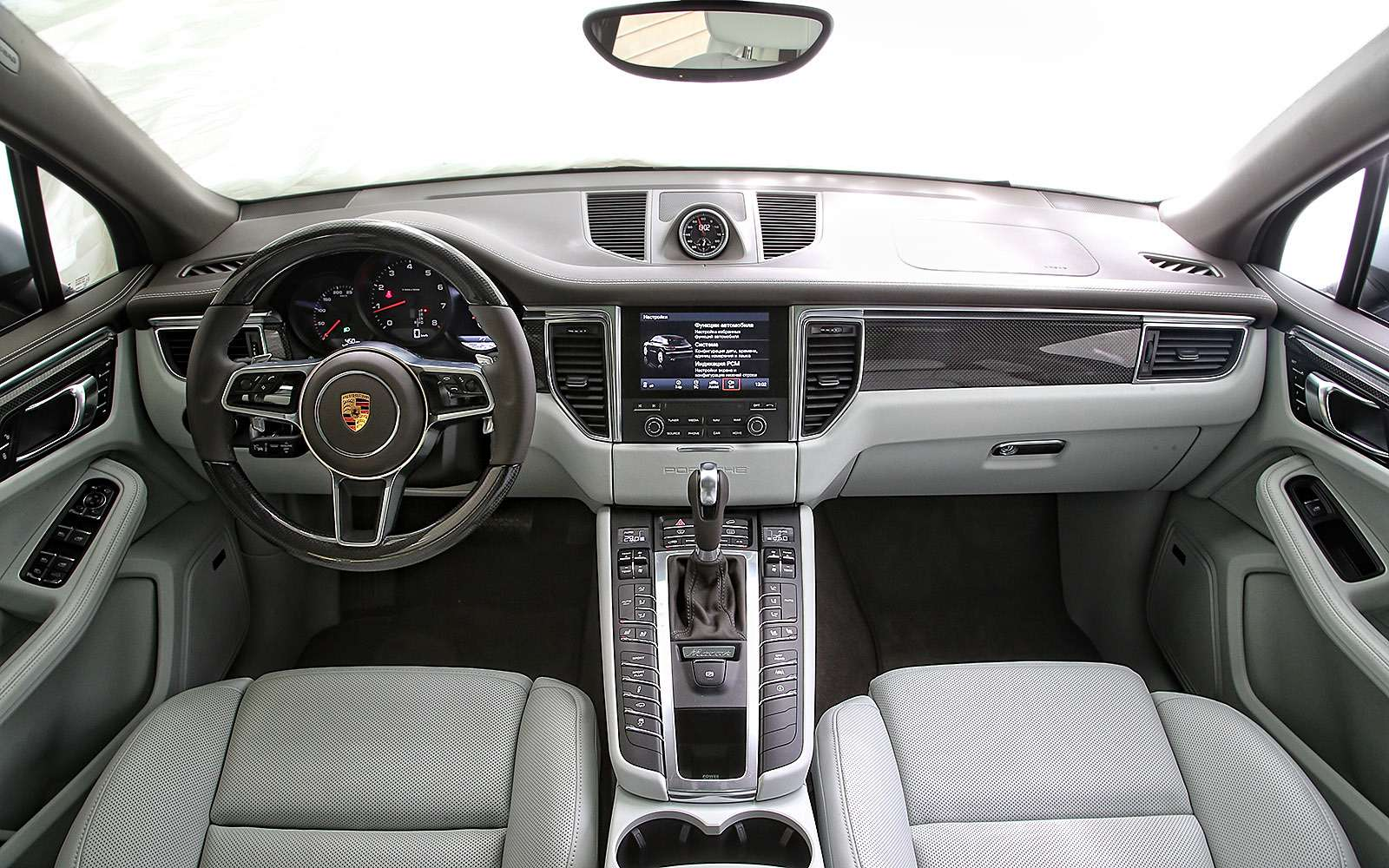 Передняя панель Porsche Macan