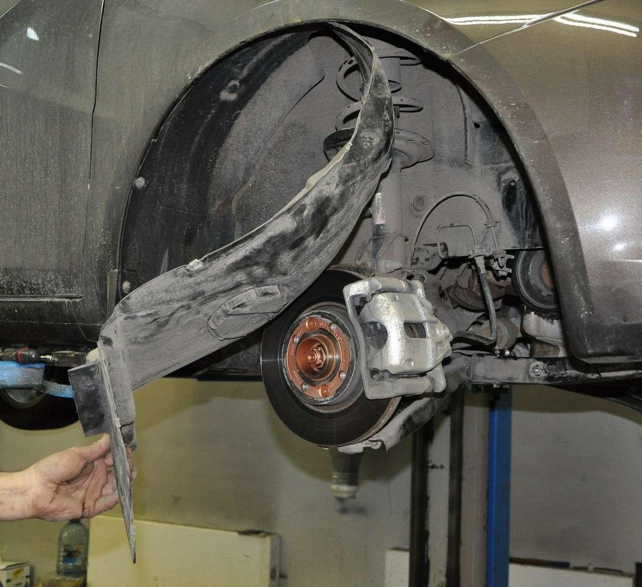 Lada Vesta: проверка изамена ремня привода вспомогательных агрегатов— фото 568590