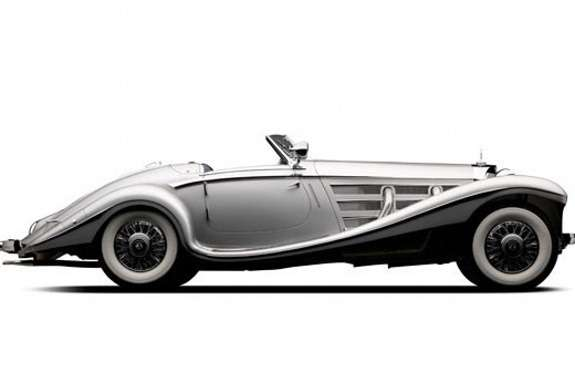 Mercedes-Benz 540K Spezial Roadster by Sindelfingen side view