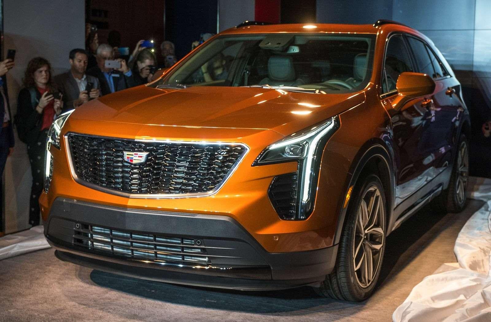 Игра напонижение: Cadillac представил компактный кроссовер XT4— фото 857698