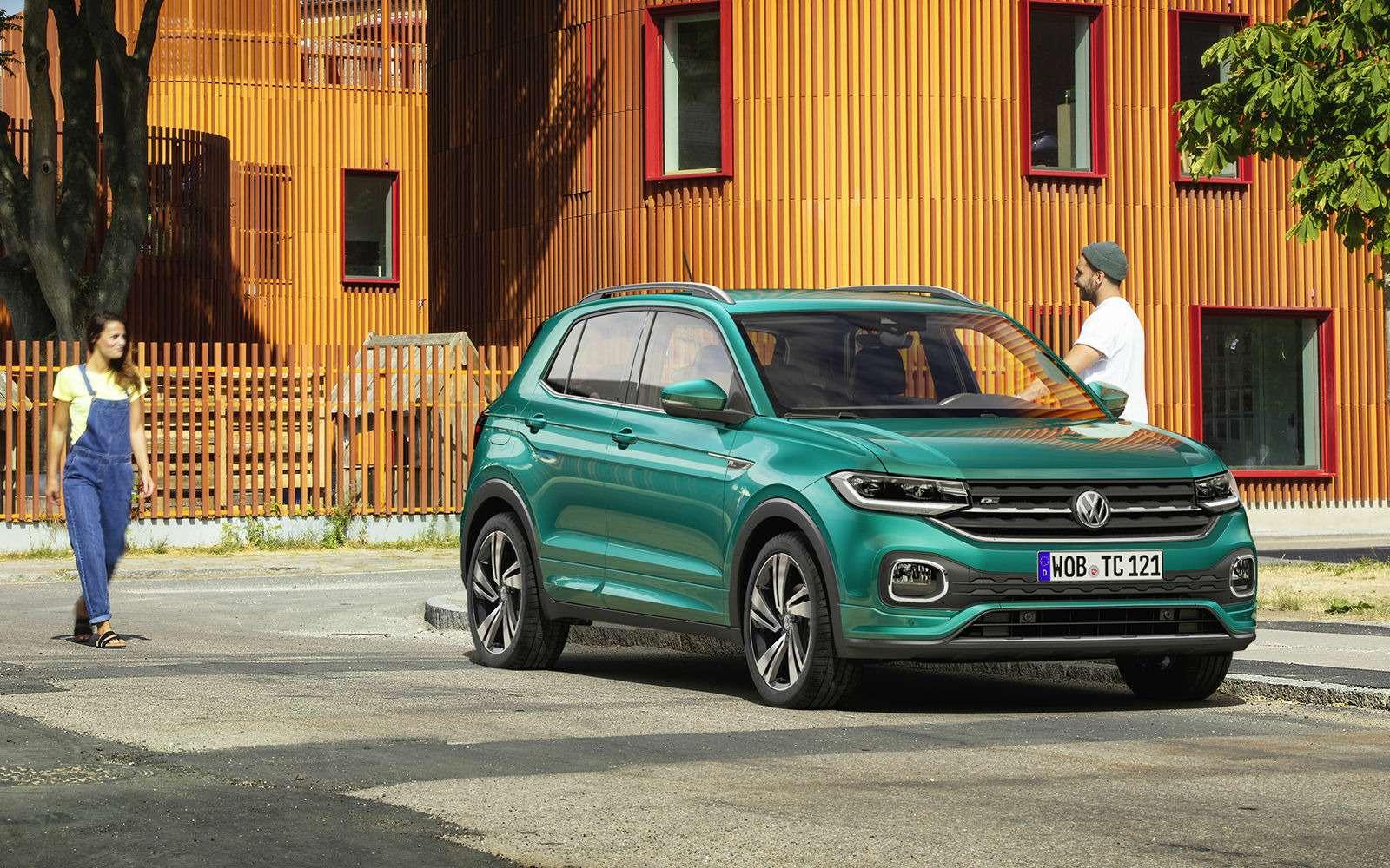 Новый кроссовер Volkswagen: онпоявится вРоссии!— фото 918208