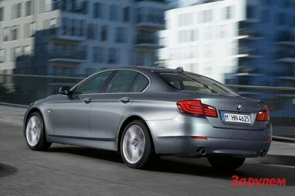 BMW 5-Series side-rear view
