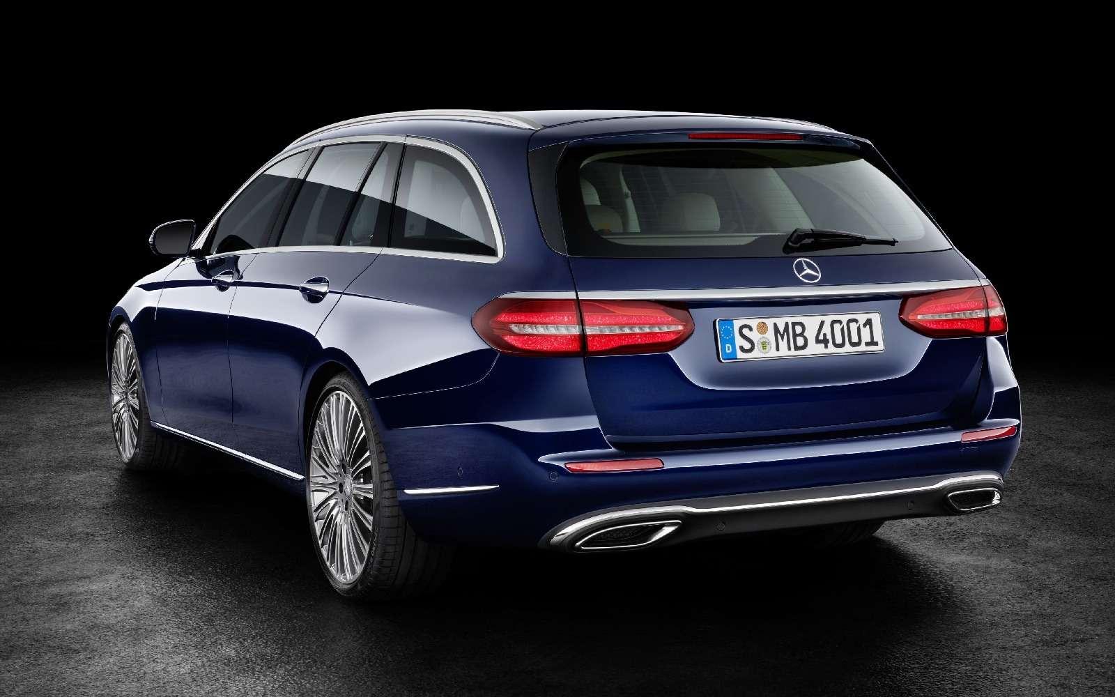 Новый универсал Mercedes-Benz Е-класса: шестой, юбилейный— фото 595685
