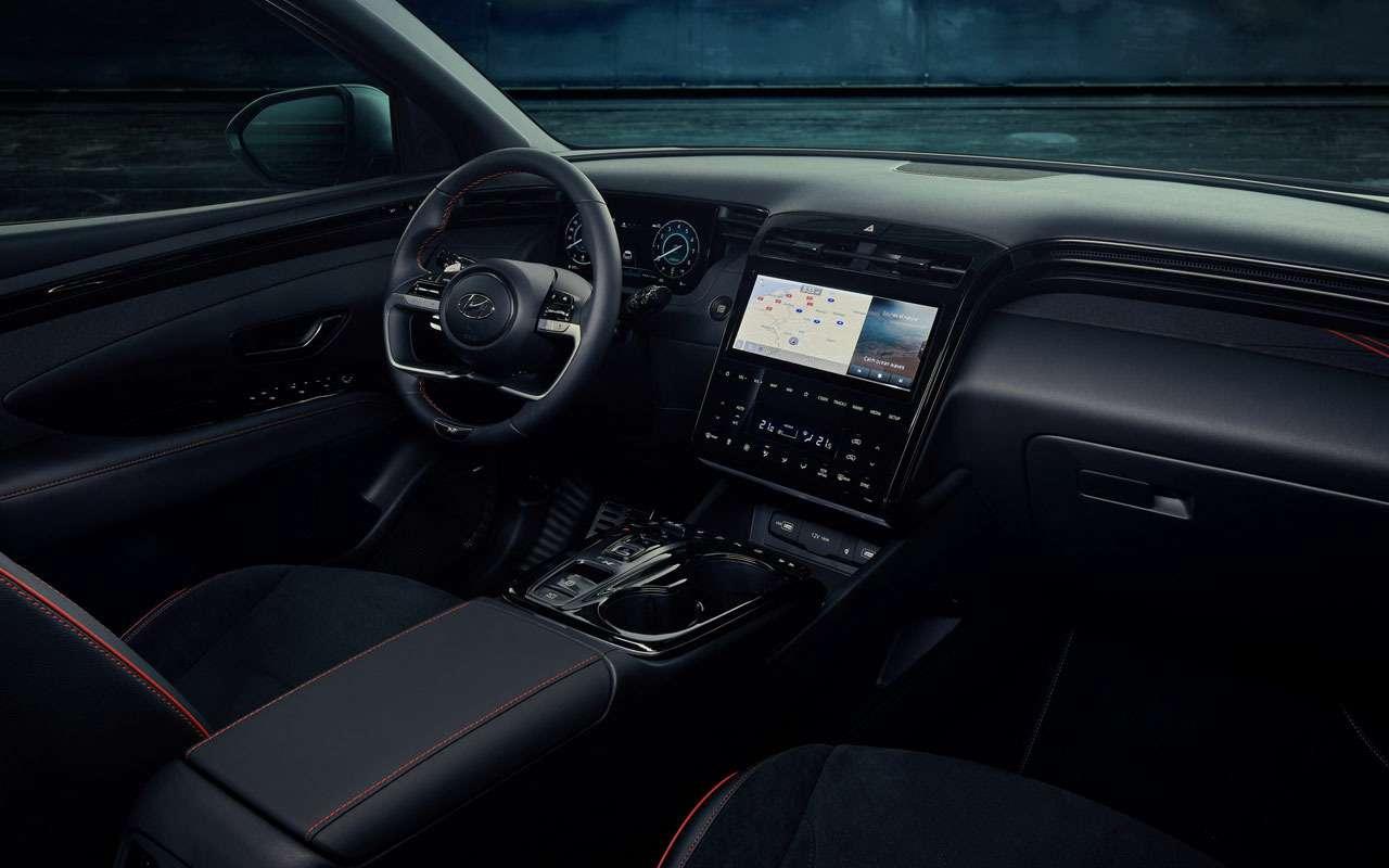 Hyundai показал спортивную версию Tucson— фото 1219204