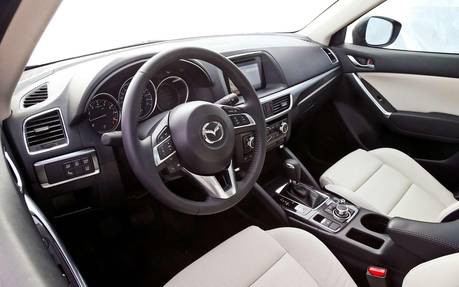 Новый Tiguan, CX-5или Sportage? Битва неравных— фото 670856
