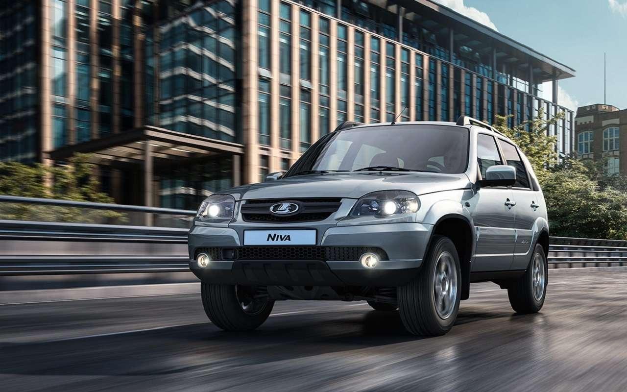 Lada Niva официально: как выглядит, какие приборы исколько стоит— фото 1144301