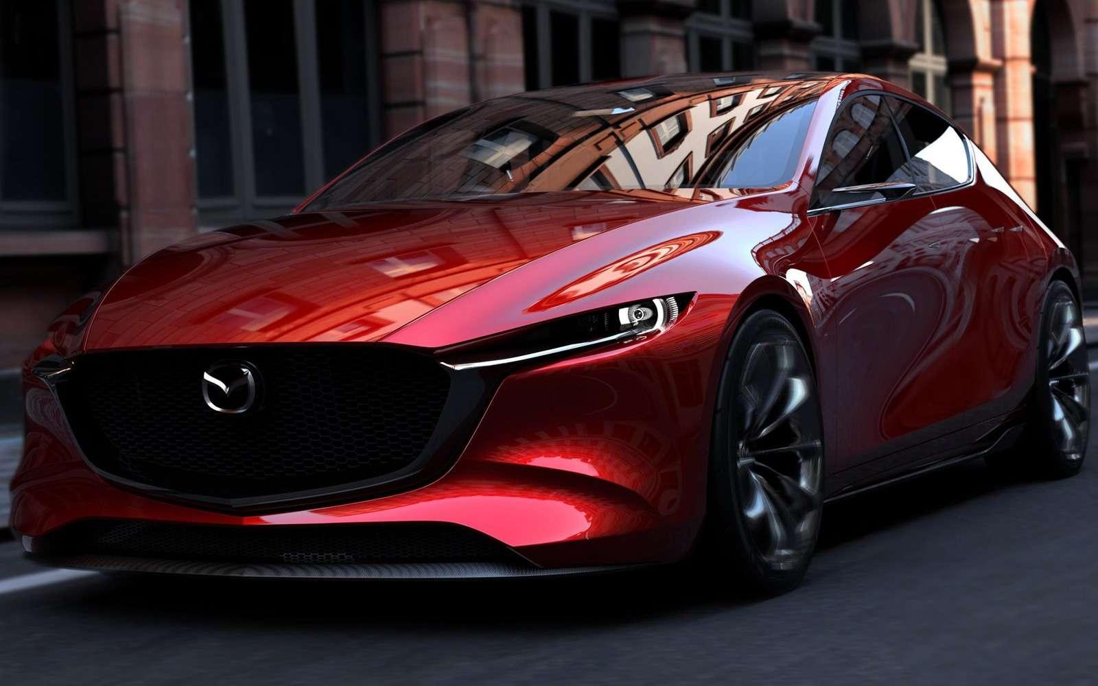 Новая Mazda 3: мызнаем, как она будет выглядеть— фото 809158
