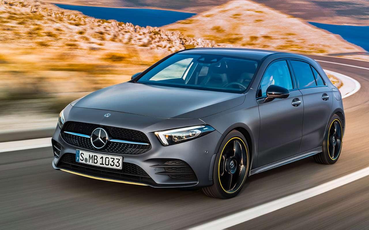 Новый Mercedes-Benz А-класса— первая встреча— фото 853342