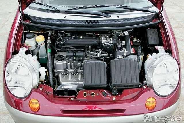 Тест Daewoo Matiz 1.0. Литр начетверых— фото 57056