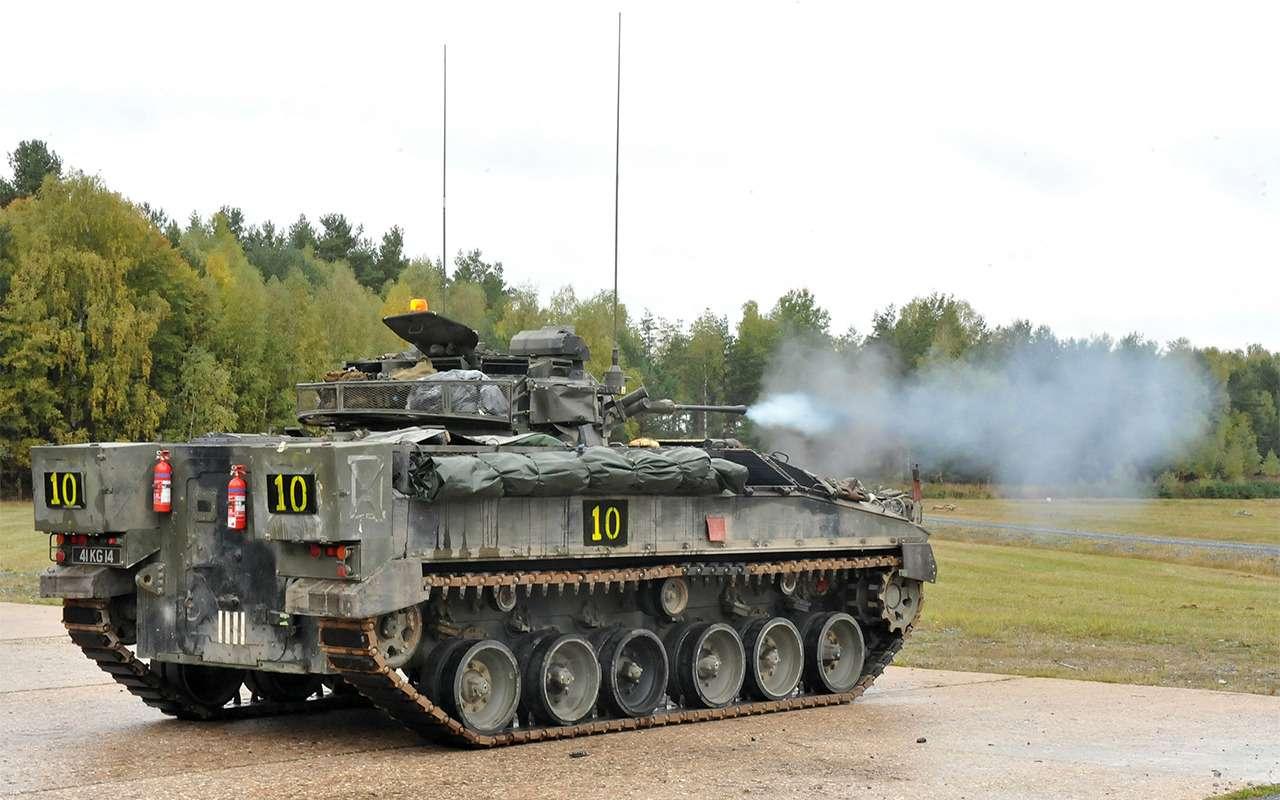 Наша БМП-3 против британского Warrior: артиллерийская дуэль— фото 857751
