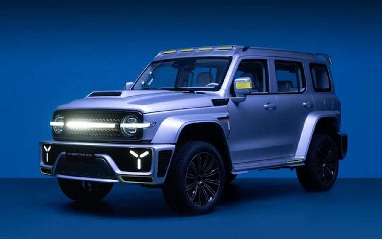 6 новых автомобилей изКитая— ждем вРоссии— фото 1243471