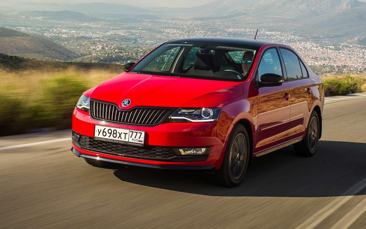 Skoda Rapid или Volkswagen Polo— ЗРпомогает сделать выбор— фото 792145