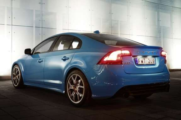 Volvo S60 Polestar Performance Concept side-rear view