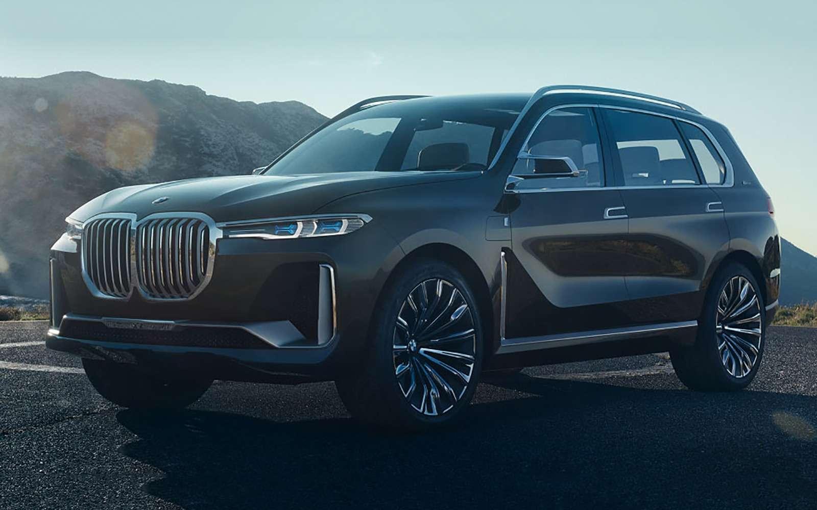 BMWX7: мызнаем, как онвыглядит!— фото 791750
