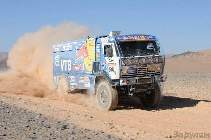 Дакар-2009: Пустыня поглотила Сайнса— фото 6044