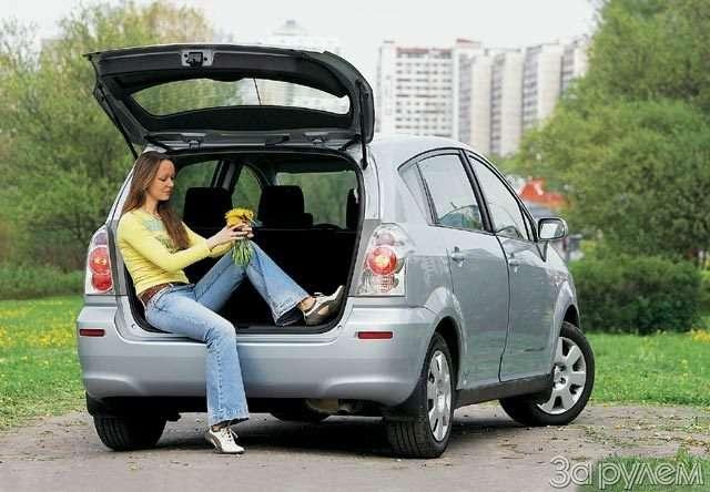 Toyota Corolla Verso. Такая нужна самому!— фото 57094