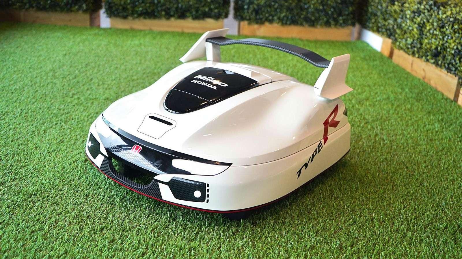 Honda рассекретила электрический автономный Type R.Для лужайки— фото 793267