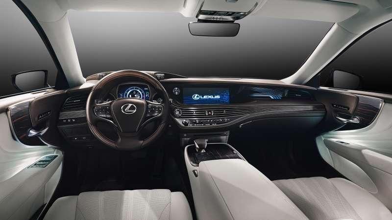 Проглотить S-класс: вДетройте дебютировал новый Lexus LS