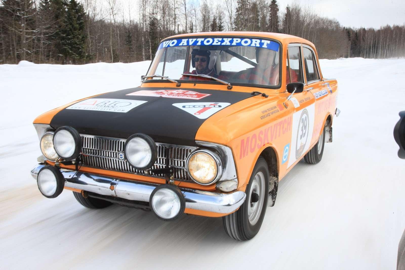раллийный Москвич-412