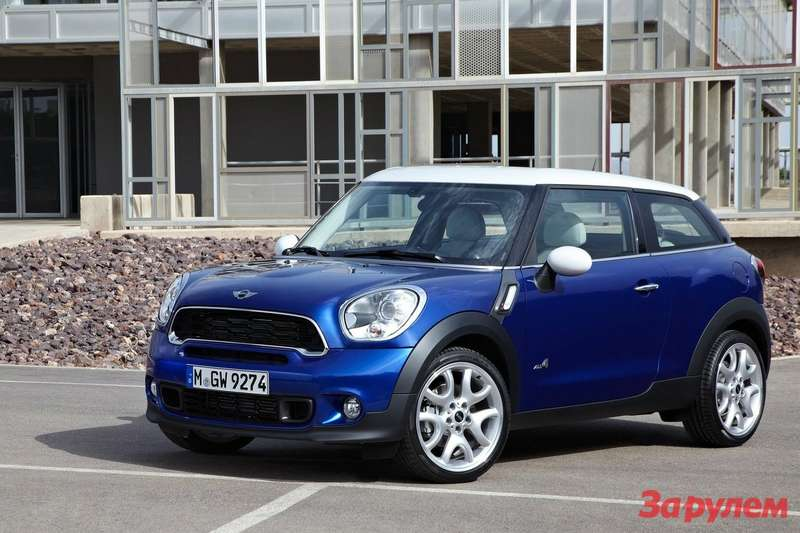 MINI Paceman side-front view