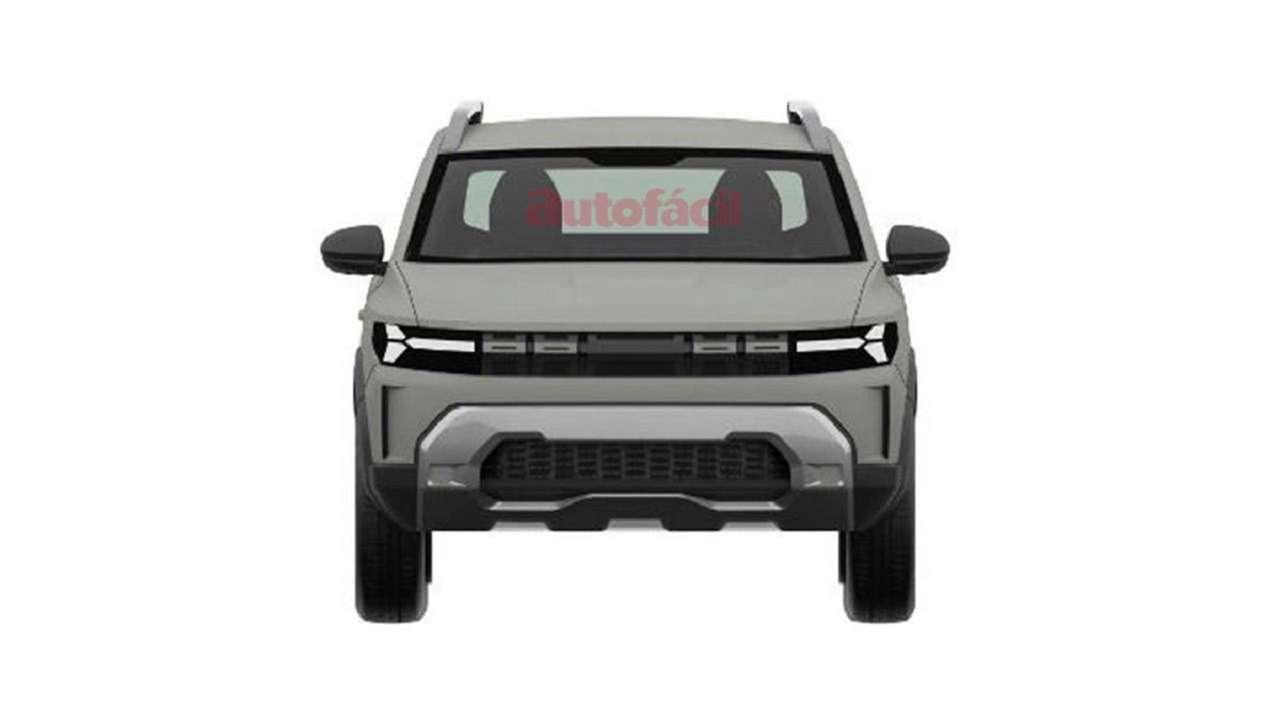 С прицелом нановую Ниву: запатентован дизайн Dacia Bigster— фото 1247818