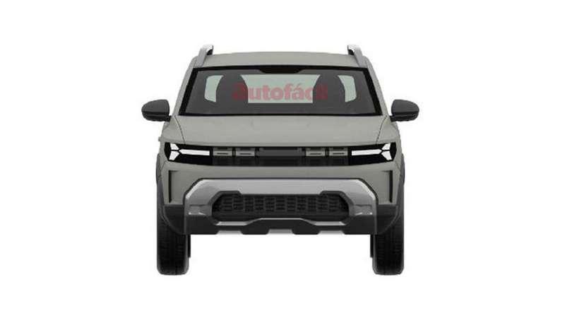 Сприцелом нановую Ниву: запатентован дизайн Dacia Bigster