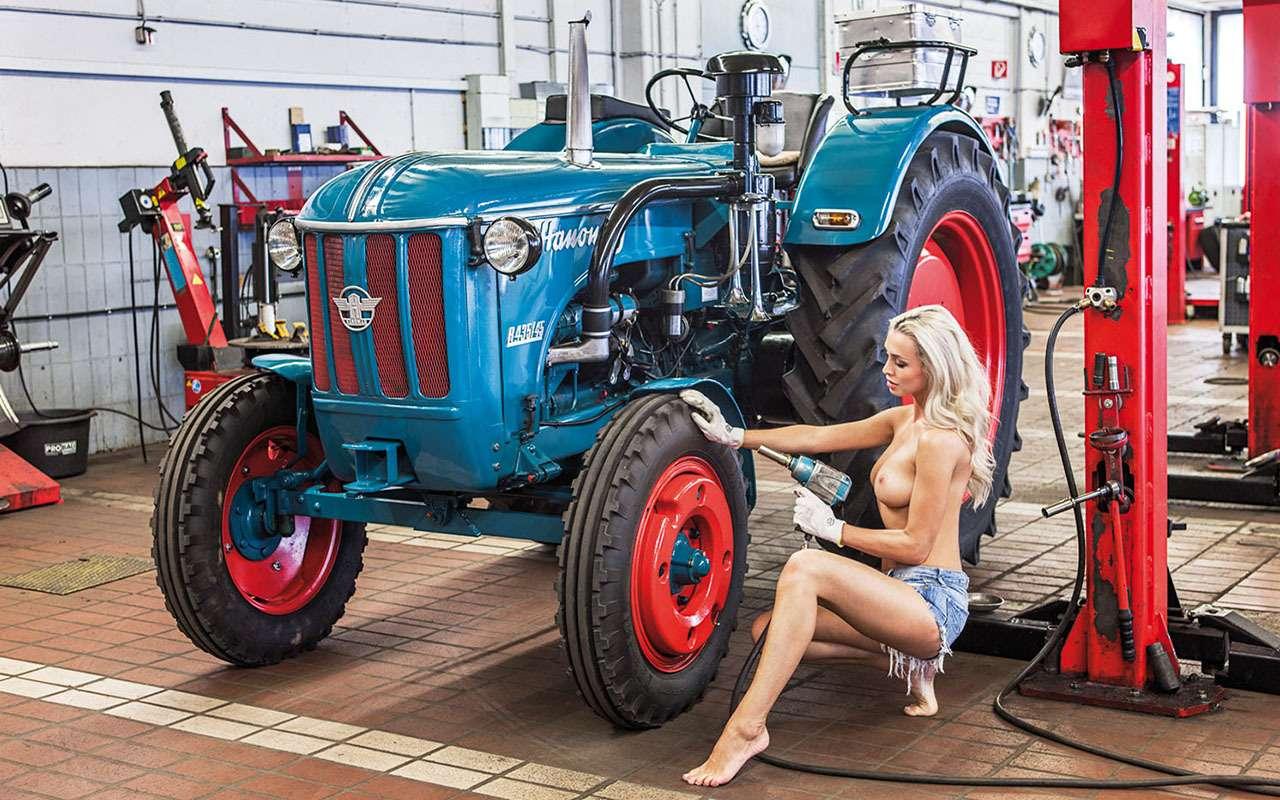 Новый календарь длялюбителей тракторов (ине только)— фото 945275
