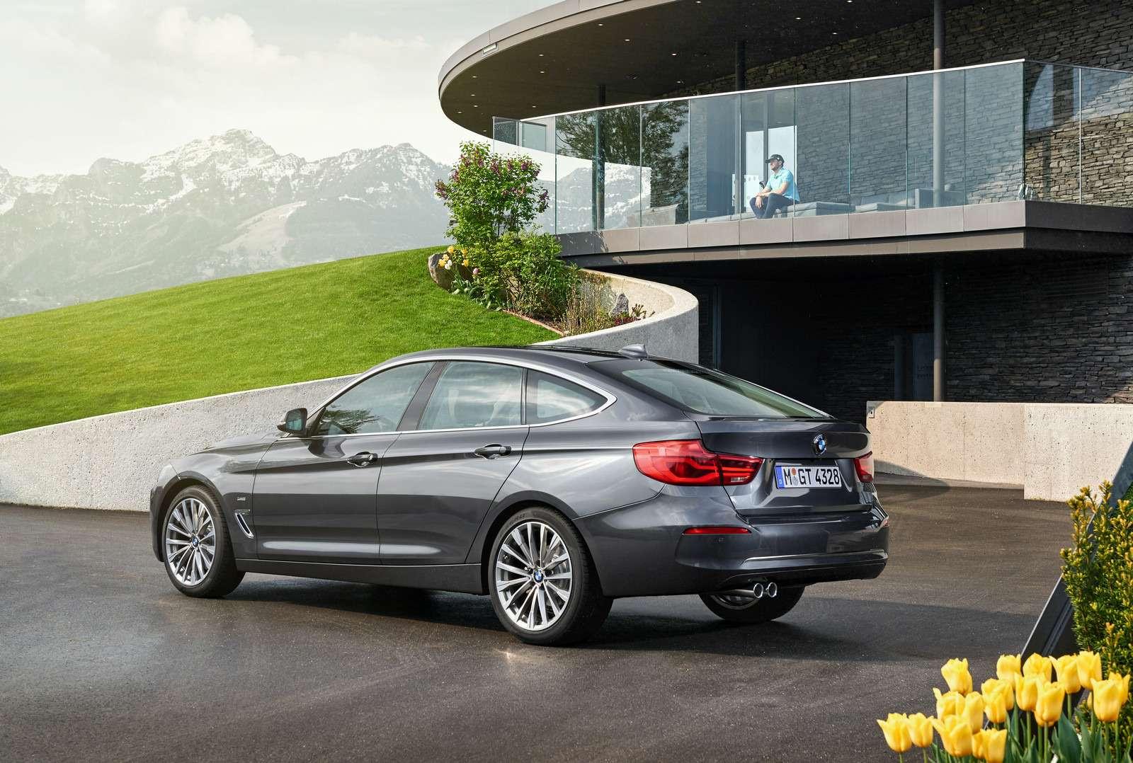 Обновленный BMW 3-й серии GT: урок эффективного менеджмента— фото 593848