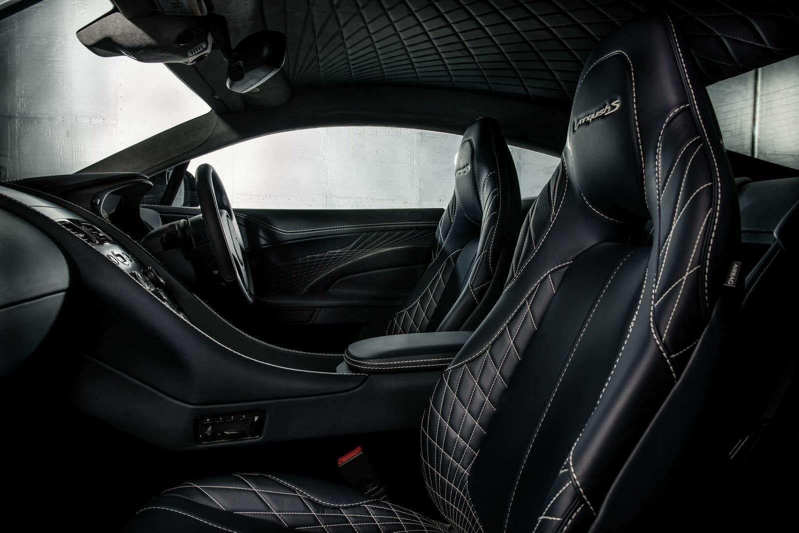 С прочищенной глоткой: Aston Martin представил новый Vanquish S— фото 664681