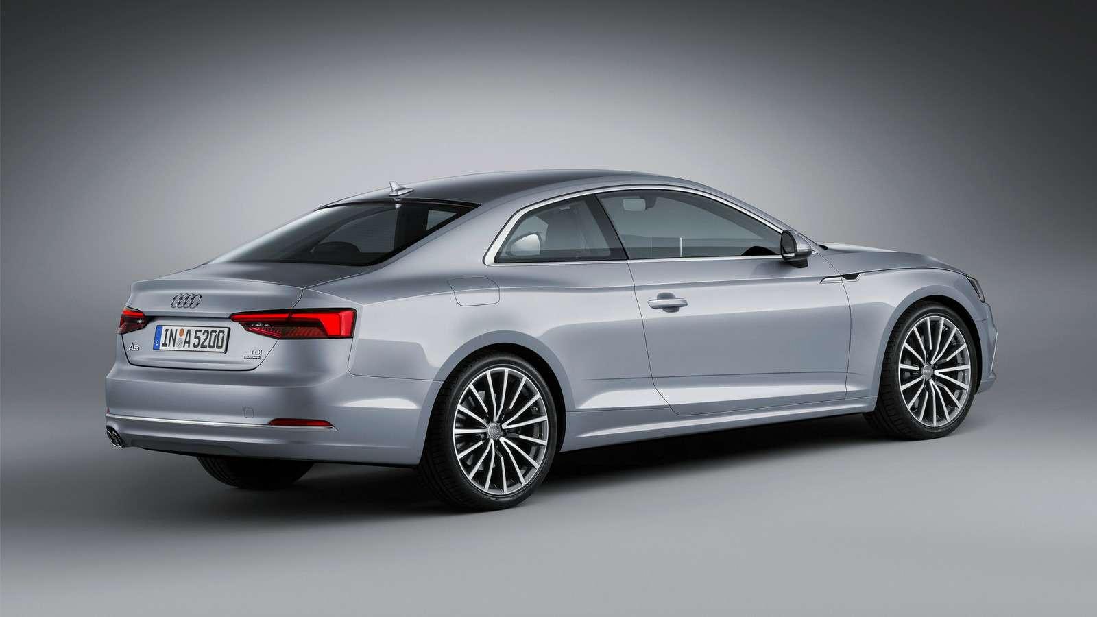 Новый Audi A5не стал «ломать глаза»— фото 594569