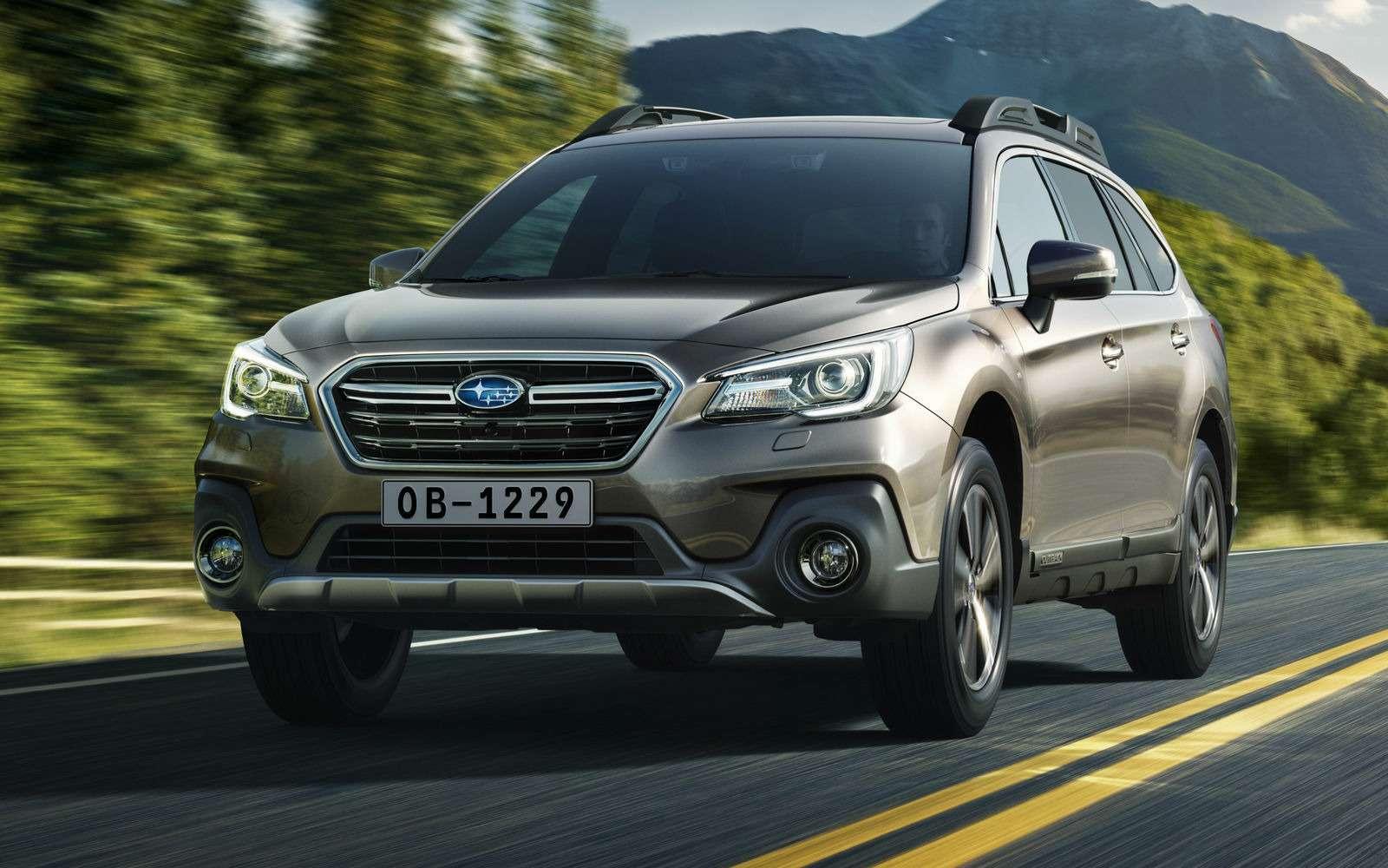 Кросс-универсал Subaru Outback неподорожал после обновления— фото 855718