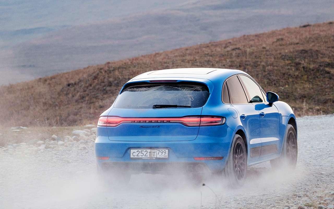 Тест последнего бензинового Porsche Macan— фото 1201232