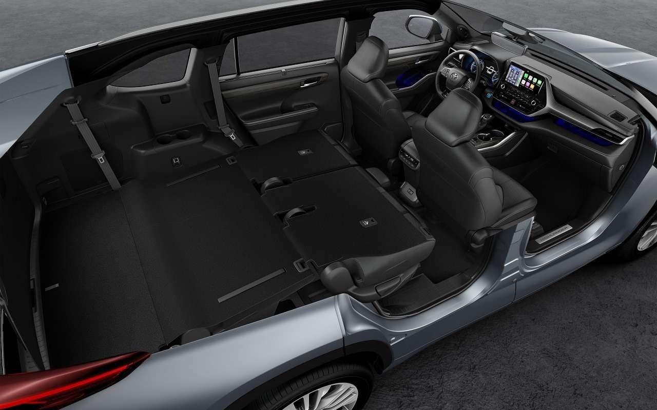 Новый Toyota Highlander: впродаже слета 2020 года— фото 1122150