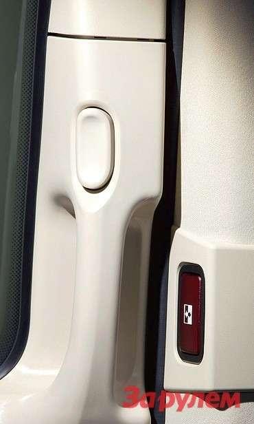 Mercedes-Benz Viano FL: Ручки сдвижных дверей сделаны подестественный хват.