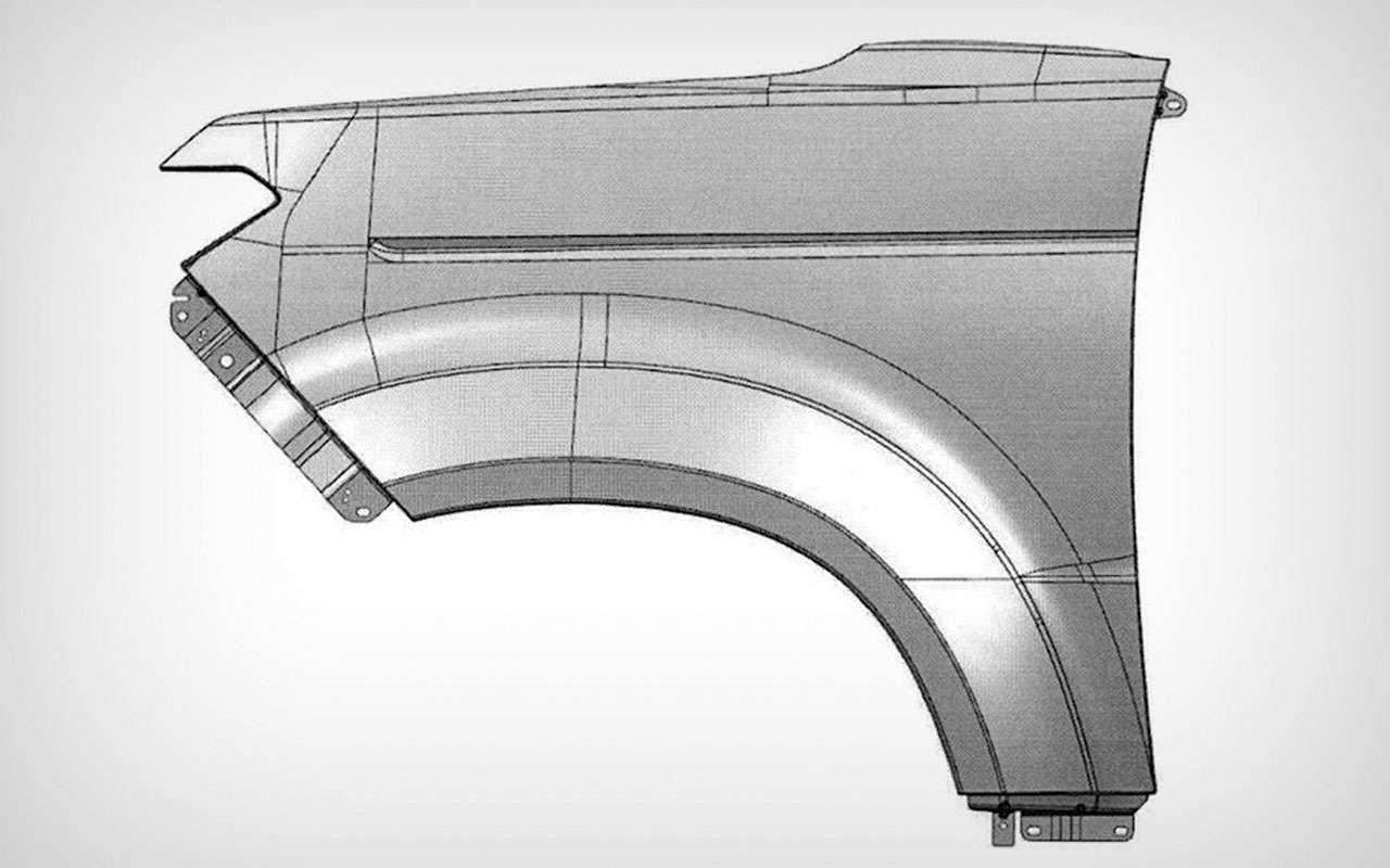 Новый УАЗ Патриот II— стало понятно, какие унего крылья— фото 1085674