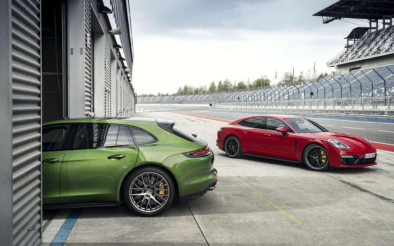 Porsche Panamera GTS: теперь ивкузове универсал!— фото 926358