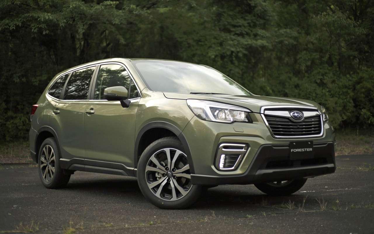 Новый Subaru Forester дляРоссии: «Зарулем» узнал все цены икомплектации— фото 912722