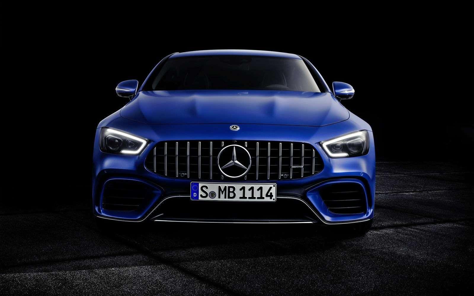Подмена! Пятидверный Mercedes-AMG GTполучил «тележку» Е-класса— фото 851514