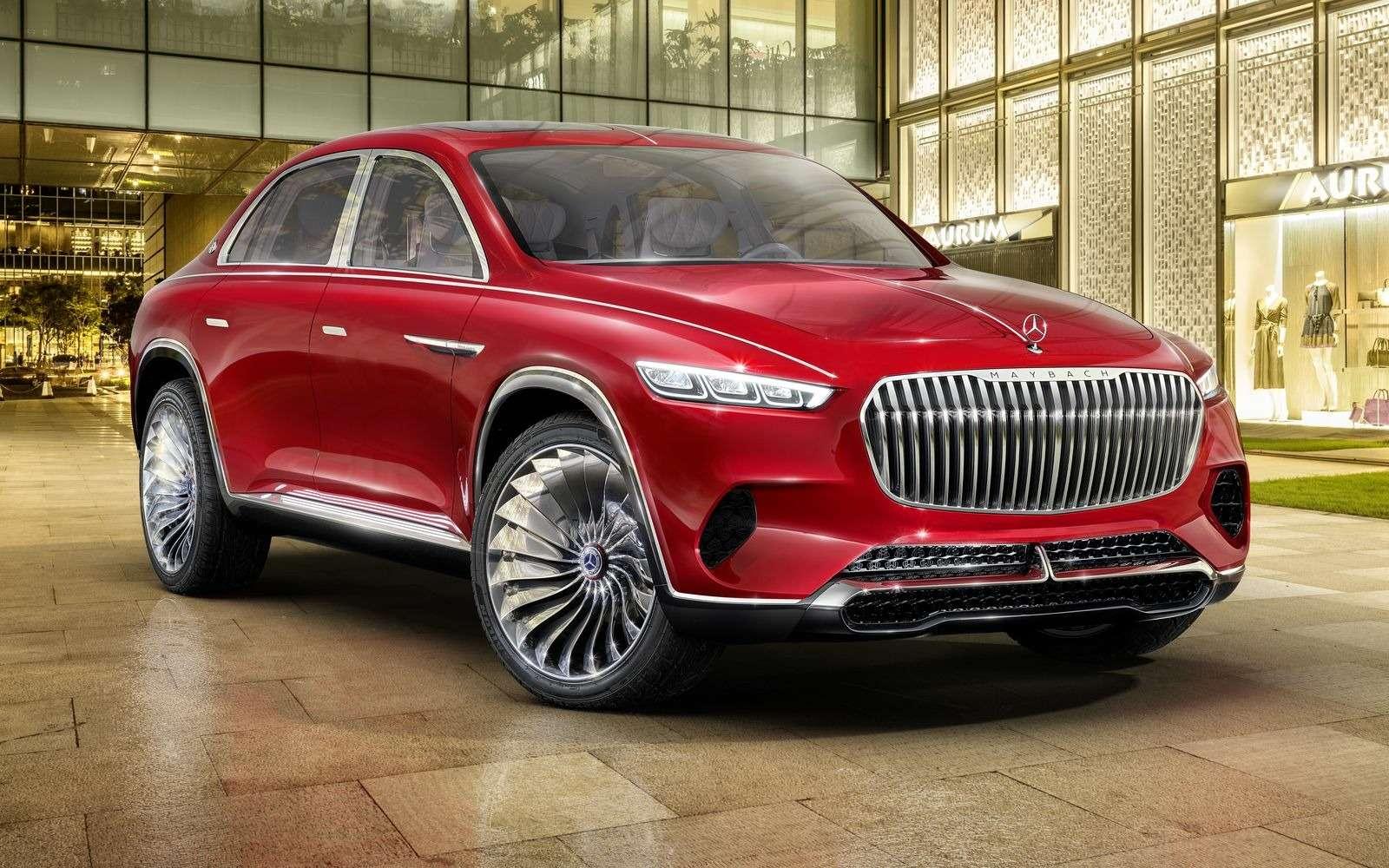 Кросс-седан Mercedes-Maybach Ultimate Luxury: золото, чайник, электричество— фото 865372